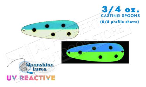 Moonshine Lures Casting Spoon 3/4 oz #54210172