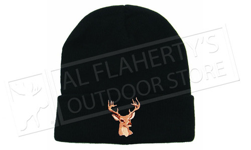 Backwoods Thinsulate Touque Black #797P