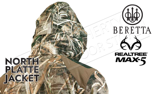 Beretta North Platte Jacket in MAX5 Camo #GU044022950858