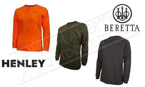 Beretta Upland Henley T-Shirt #TS242T1435
