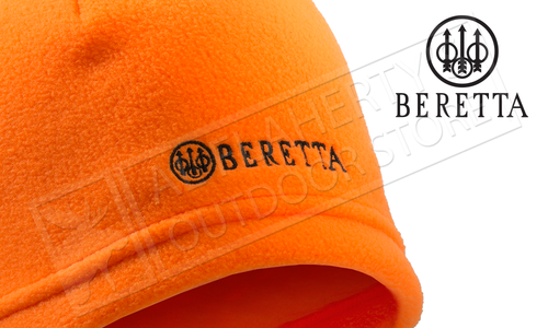 Beretta Fleece Beanie Blaze Orange #BC461T14650402
