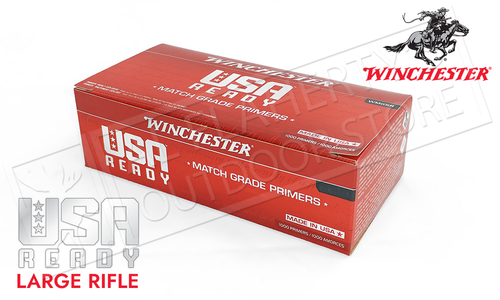 Winchester Match Grade Primers Large Rifle #WMGLR