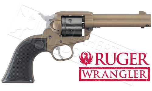 Ruger Wrangler Single-Action Revolver in Bronze Cerakote 22LR #2004