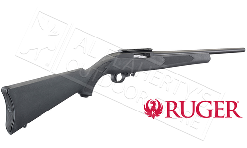 Ruger 10/22 Carbine Black with Charcoal Synthetic Stock #31145