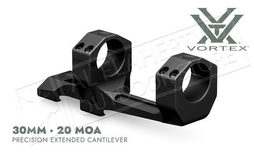 Vortex Precision Extended Cantilever Mount - 30mm 20 MOA #CM-530-20