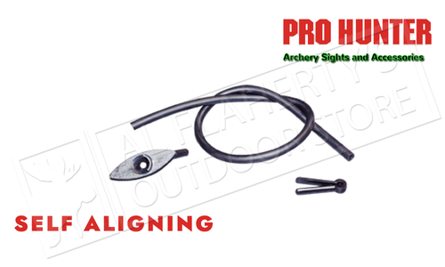Pro Hunter Self Aligning String Peep Sight - Large #22034