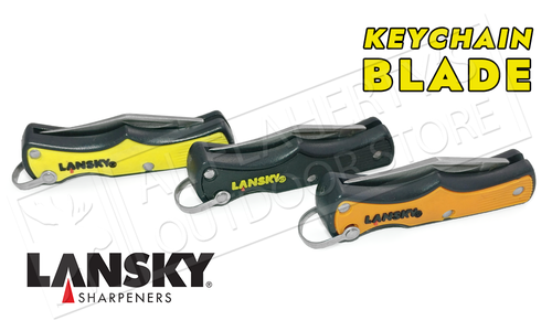 Lansky Knife - Folding Keychain Knife, Various Colours #LKN-040