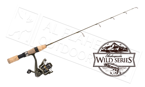 "Shakespeare Wild Series Ice Rods & Reel Combo, 26"" to 30"", Medium Light to Medium Heavy #SWSICExCBO"