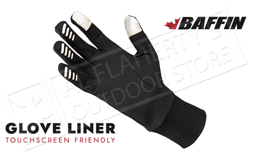 Baffin Glove Liners - M to XL #BGLOVU005BK1