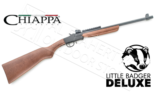 Chiappa Deluxe Wood Little Badger Folding Survival Rifle #500 - 22LR #500-172