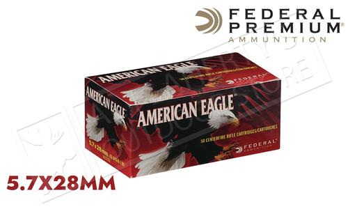 Federal American Eagle 5.7x28 FMJ 40 Grain #AE5728A