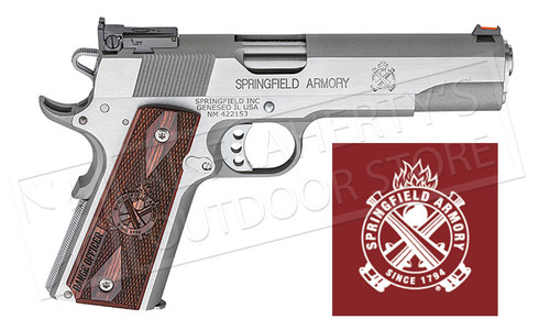Springfield Armory 1911-A1 Range Officer Stainless Steel - 45ACP #PI9124L