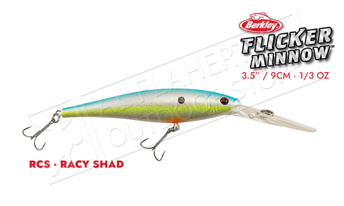 Berkley Flicker Minnow, Size 9 #FFMN9D