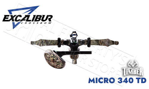 Excalibur Micro 340 Takedown CrossbowRealtree Timber with Tact 100 Scope #E74118