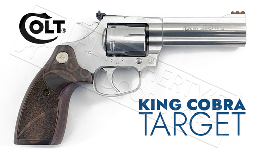"Colt King Cobra Target 357 4.25"" Barrel Stainless steel #KCOBRA-SB4TS"