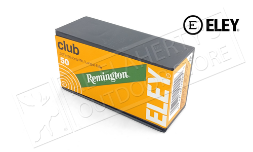Remington Eley 22LR Club 40 Grain Box of 50 Rounds #21556