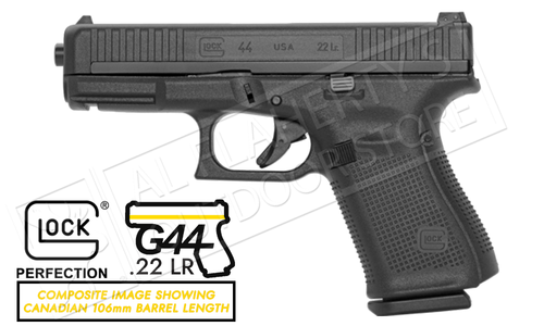 Glock 44 Pistol 22LR - 10 Round with 106mm Barrel #UA445X101