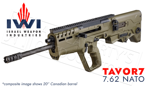 "IWI Tavor 7 Rifle in 7.62 NATO With 20"" Barrel #TAV308OD"