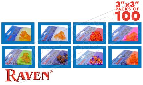 "Raven Spawn Netting, Various Colours, 3"" x 3"" Squares #RVSN"