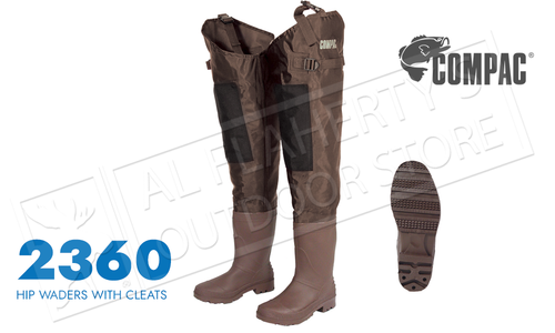 Compac Hip Wader with Cleated Sole - Various Sizes #2360