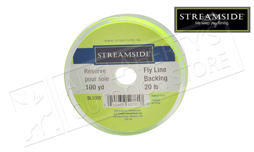 Streamside Line Backing for Fly and Drift Fishing - 100 Yards 20 LB Test #BL100S