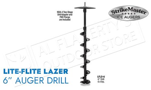 """Strike Master Lite-Flite Laser Drill Unit 6"""" #LFLD-6"""