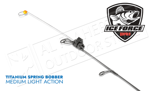 Rapala Titanium Spring Bobber - Medium Light Pack of 2 #RTISBML