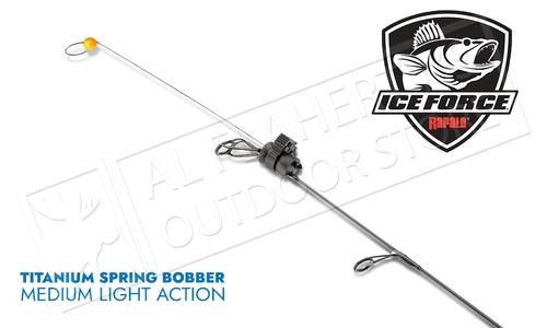 Rapala Titanium Spring Bobber - Medium Light Pack of 2 #RTISBML
