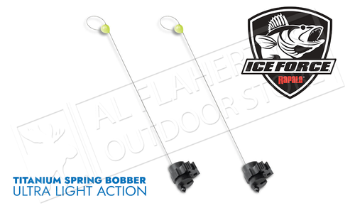 Rapala Titanium Spring Bobber - Ultra Light Pack of 2 #RTISBU