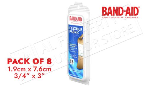 Band-Aid Flex Fabric 8 Pack Bandages #47544