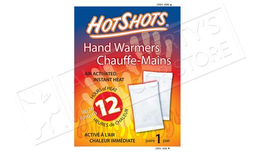 HotShots Self Heating Hand Warmers, 1-Pair Package #00801