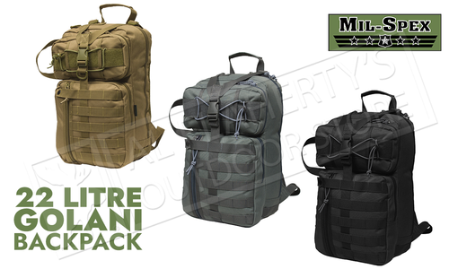 Mil-Spex Golani Tactical Pack 22L - Various Colours #258x
