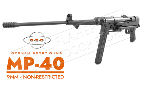 GSG Rifle MP-40 Semi-Auto 9mm Non-Restricted #940.00.04