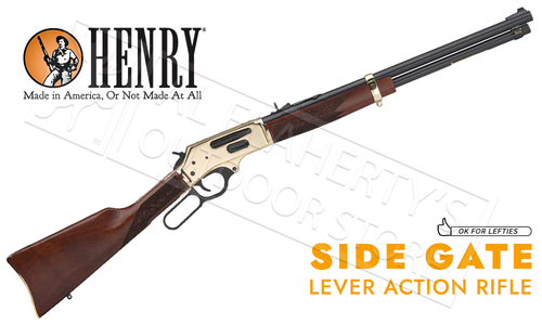 Henry Lever Action 30-30 Rifle with Side Gate Loading #H024-3030