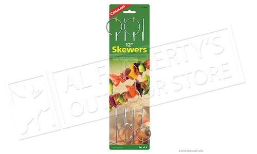 """Coghlans Skewers, Pack of 4, 12"""" #8977"""