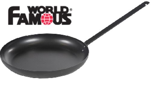 "World Famous Carbon Steel Outfitter Frying Pan, 15"" Non-Stick #1338"