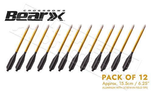Bear Archery Desire Mini Crossbow Bolts Aluminum 12 Pack #AVXA12P