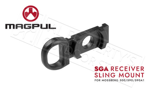Magpul SGA Stock Receiver Receiver Sling Mount for Mossberg 590 and 590A1 #MAG492-BLK