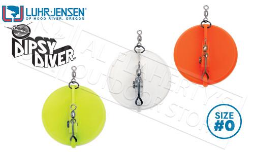 Luhr-Jensen Dipsy Diver Trolling Sinker, Size 0 #5560-000