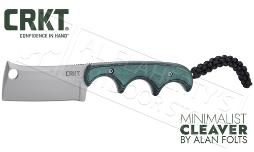 CRKT Minimalist Cleaver by Folts #2383