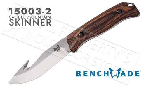 Benchmade Saddle Mountain Skinner With Gut Hook #15003-2