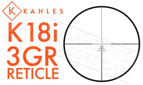 Kahles Scope K18i 1-8X24 with Illuminated 3GR Reticle #K18i