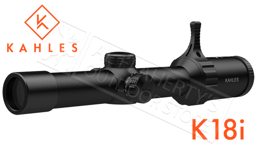 Kahles Scope K18i 1-8X24 with Illuminated 3GR Reticle #K18i