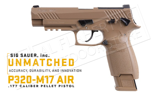 SIG Sauer Air Pistol M17 .177 Caliber #SIGCAIR-M17-177