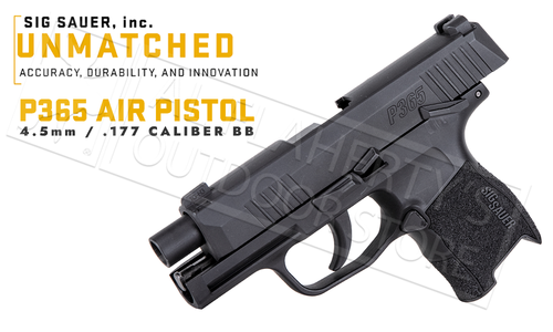 SIG Sauer Air Pistol P365 BB Caliber #SIGAIR-P320-177-30R-BLK