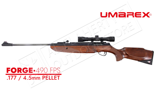 Umarex Forge 490 FPS Wood .177 Break Barrel Air Rifle #2251360