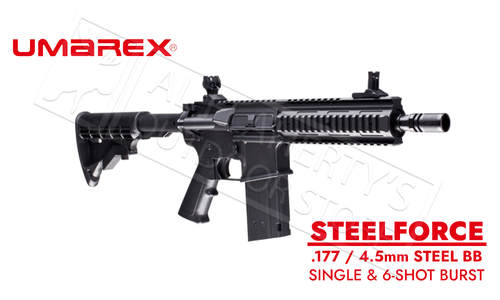 Umarex Steelforce .177 CO2 BB Rifle 430 FPS #225-4855