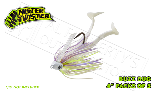 """Mister Twister Buzz Bug 4"""" Pack of 5 #4BB5"""