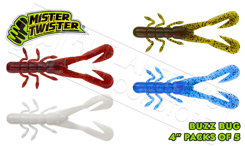 "Mister Twister Buzz Bug 4"" Pack of 5 #4BB5"