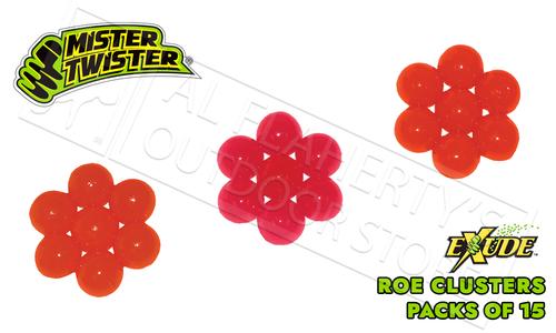 Mister Twister Exude Roe, Resealable Packs of 15 #ESR15